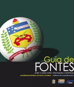 Capa do Guia de Fontes da UFSC